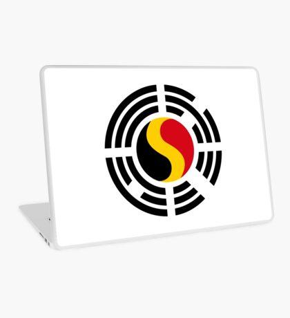 Korean Belgian Multinational Patriot Flag Series Laptop Skin