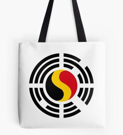 Korean Belgian Multinational Patriot Flag Series Tote Bag