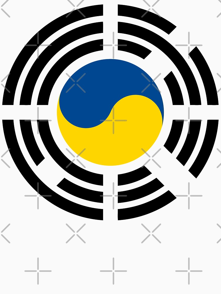 Korean Ukrainian Multinational Patriot Flag Series by carbonfibreme