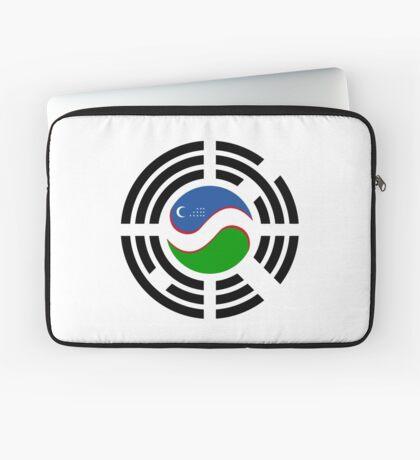 Korean Uzbeki Multinational Patriot Flag Series Laptop Sleeve