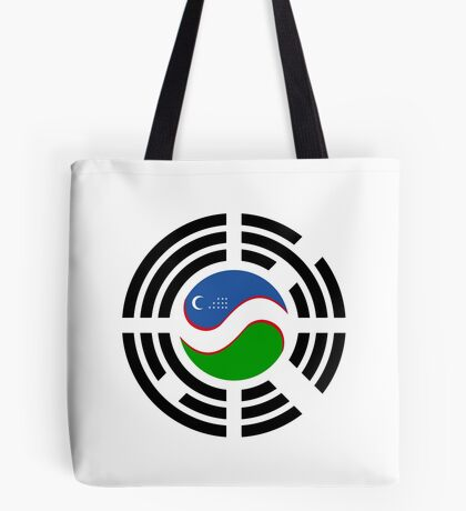 Korean Uzbeki Multinational Patriot Flag Series Tote Bag