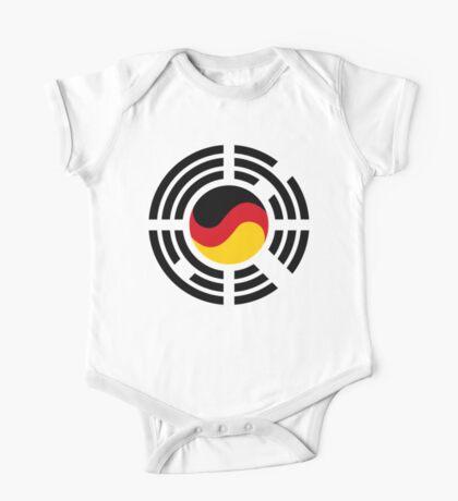 Korean German Multinational Patriot Flag Series Kids Clothes