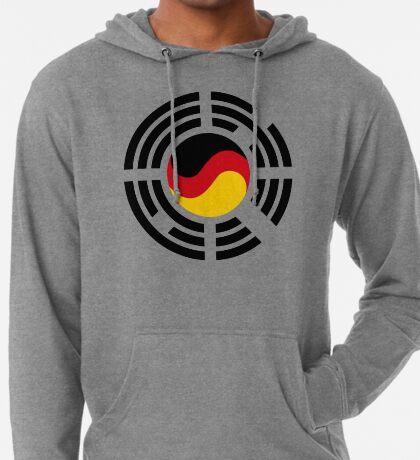 Korean German Multinational Patriot Flag Series Lightweight Hoodie
