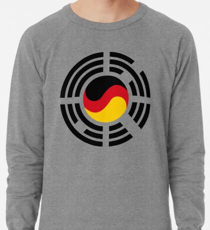 Korean German Multinational Patriot Flag Series Lightweight Sweatshirt