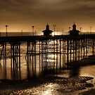 North Pier at Ebb Tide by Stephen Frost