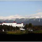 Last Light on the Mount Washington Hotel by Wayne King