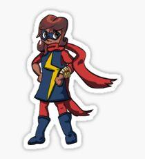 Smol Ms Marvel Sticker