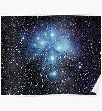Sternkonstellation M45 Poster