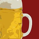 Beer mug by Herbert Shin