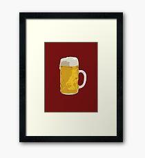 Beer mug Framed Print
