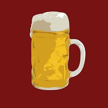 Beer mug by herbertshin