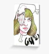 GRIMES Greeting Card