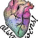 «El amor siempre gana» de Tiny People Type