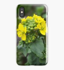 Yellow Flowers. iPhone Case/Skin