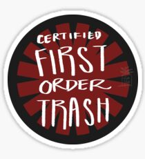 First Order Trash Sticker