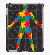 puzzle human body iPad Case/Skin