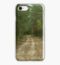The path from  woods iPhone Case/Skin