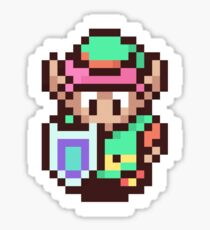 The Legend of Zelda - Link Pixel Art Sticker
