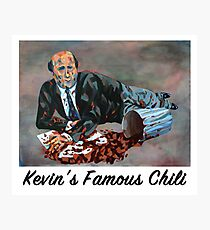 Kevin's Famous Chili - The Office Photographic Print