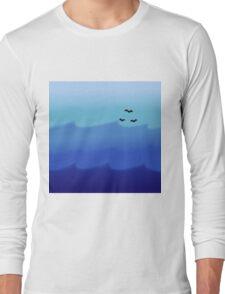 Ocean Gradient Long Sleeve T-Shirt