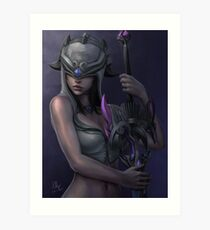 Nemesis - Smite Art Print