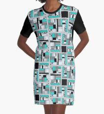 SQUARE MANIFESTATION SEVEN OF FIVE Graphic T-Shirt Dress