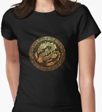 dragon 2 Womens Fitted T-Shirt