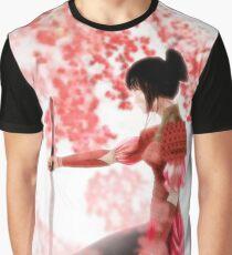 Samurai Girl Graphic T-Shirt