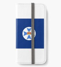 Flag of Queensland iPhone Wallet/Case/Skin