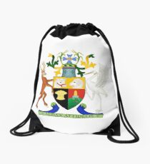 Coat of Arms of Queensland Drawstring Bag