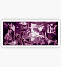 Guernica Pablo Picasso Painting Sticker