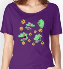 Cookie Dinosaur Women's Relaxed Fit T-Shirt