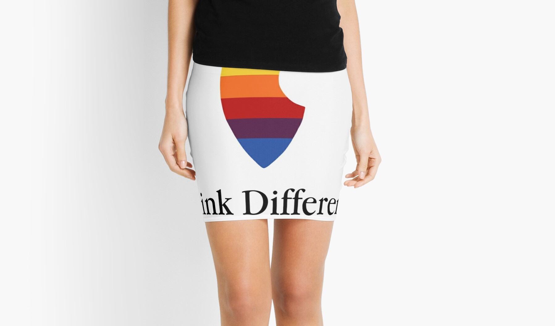 """Apple Parody Zootopia Carrot """"Think Different"""" Logo by Marshmallowking"""