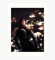 Judge Dredd; Mega-City Patrol Art Print