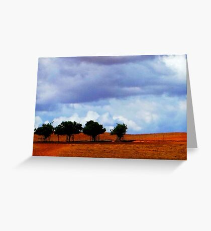 In line Greeting Card