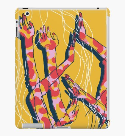 Expressive Arms in Yellow iPad Case/Skin