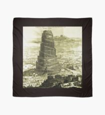 Tower of Babel, KIRCHER'S Turris Babel (1679) Scarf