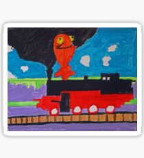 ChuChu Train Sticker