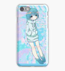 Blue Anime Girl iPhone Case/Skin