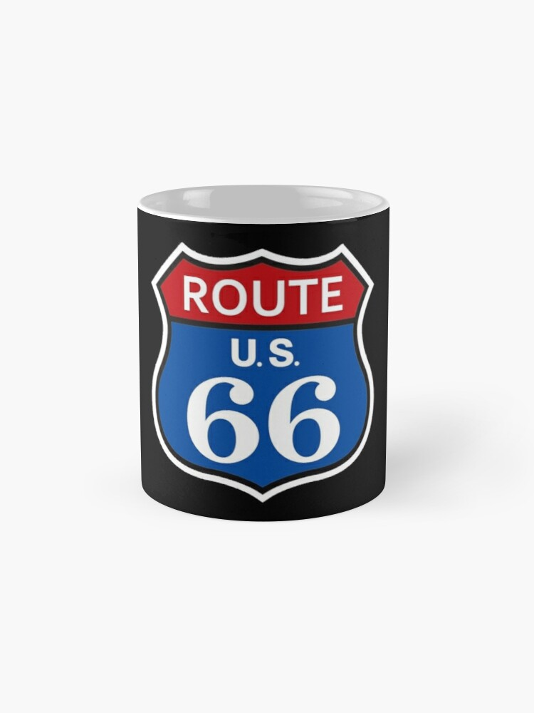 Alternate view of US Route 66 Shirt Mugs