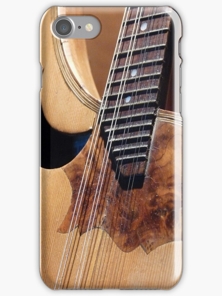 Guitar - iPhone Case by Lucinda Walter