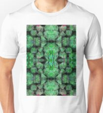 Green Abstract background pattern T-Shirt