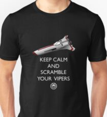 KEEP CALM AND SCRAMBLE YOUR VIPERS T-Shirt