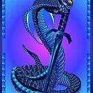 Blue Snake and Dagger by Lotacats