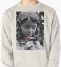 Girl with Rose II Pullover