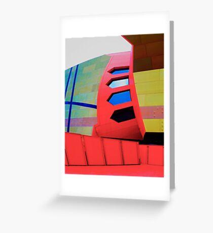 Futuristic Facade - National Museum of Australia Greeting Card