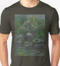 Hidden Fountain AC20130715a  Unisex T-Shirt