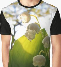 Convallaria Majalis - Lily Of The Valley Flower Filled With Sunrise | Melville, New York Graphic T-Shirt