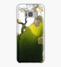 Convallaria Majalis - Lily Of The Valley Flower Filled With Sunrise | Melville, New York Samsung Galaxy Case/Skin
