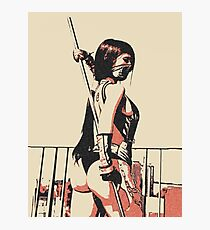 Warrior girl, sexy assasin Photographic Print